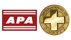 APA - The Engineered Wood Association Safety and Health Awards logo